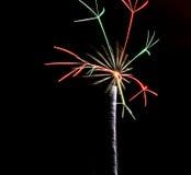 firework Fotografía de archivo