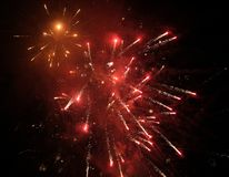 Firework. In my town Stock Photography
