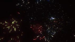 firework vídeos de arquivo