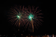 firework Foto de archivo libre de regalías