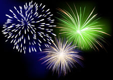 Firework Royalty Free Stock Photography