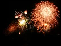 Firework. Fire work for special occation, newyear Royalty Free Stock Photography