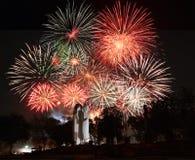 firework Fotografia de Stock