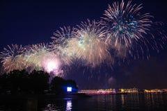 firework Fotografie Stock
