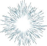 Firework. Rays firework (vector format enable Royalty Free Stock Photos