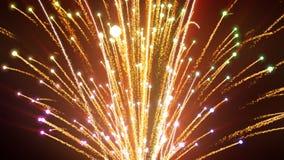 Firework. Background, loop, Full HD stock video