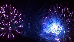 Firework. Background, loop, Full HD