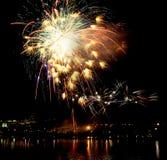 Firework. Beautiful BFirework Of Year 2014 Stock Images