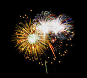 Firework. Beautiful Firework Of Year 2014 Royalty Free Stock Images