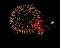 Firework. Beautiful Firework Of Year 2014 Stock Photo