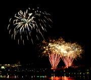 Firework. Beautiful Firework Of Year 2014 Stock Image