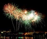 Firework. Beautiful Firework Of Year 2014 Royalty Free Stock Photo