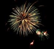 Firework. Beautiful Firework Of Year 2014 Royalty Free Stock Image