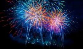 Firework Blast. Royalty Free Stock Photography