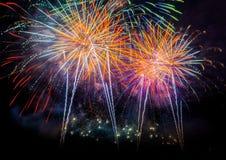 Firework Blast. Royalty Free Stock Photo
