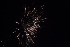 Firework Burst Stock Photography