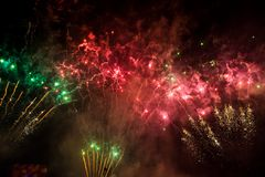 Firework Celebration Royalty Free Stock Photography