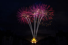 Firework Celebration Royalty Free Stock Photos