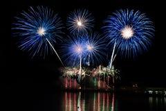 Firework contest Madeira Stock Image