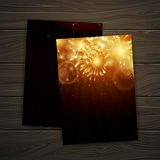 Firework Design Stock Images
