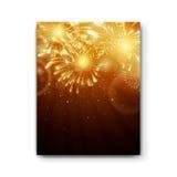 Firework Design Template Stock Images
