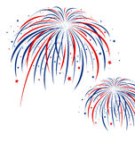 Firework design Stock Photography