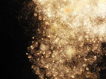 Firework. A detailed cleaned up shot of a firework Royalty Free Stock Photos