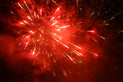 Firework display Stock Image