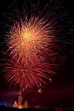 Firework display 2009 in Olsztyn #4 Stock Photography