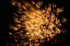 firework display Royalty Free Stock Image