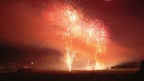 Firework display Royalty Free Stock Photos