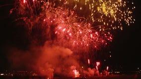 Firework display Stock Photography