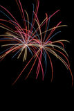Firework Display. Time to celebrate the 4th of July and Americas Birthday Stock Photo