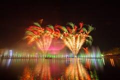 Firework displays and fireworks Stock Photo