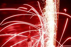 firework E Imagen de archivo libre de regalías
