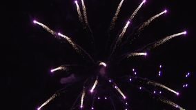 Firework explode in the sky in England