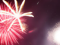 Firework explosion Royalty Free Stock Photography