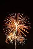 Firework explosion Royalty Free Stock Images