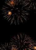 Firework explosion in the night sky Royalty Free Stock Photo