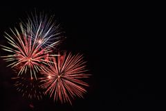 Firework_firecracker4 immagini stock libere da diritti