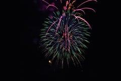 Firework_firecracker1 immagini stock libere da diritti