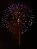 Firework Firework on the Chao Phraya river. Firework on the Chao Phraya river at night Royalty Free Stock Photography