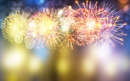 Firework. S background,s in the sky Royalty Free Stock Image