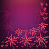 Firework Flower Royalty Free Stock Photos