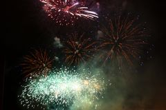 Firework  Fireworks  - Stock Photos Royalty Free Stock Photo