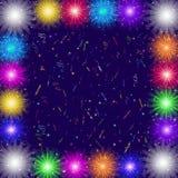 Firework, holiday background Stock Photography