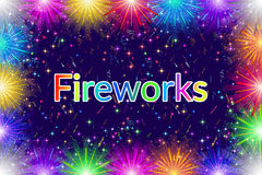 Firework, Holiday Background Stock Photos