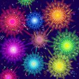 Firework, Holiday Background Royalty Free Stock Photos