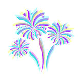 Firework icon Stock Image