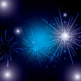 Firework icon design. Firework design over dark background, vector illustration 10 eps graphic Royalty Free Stock Photos